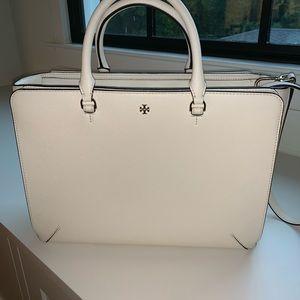 Tory Burch Robinson Large Zip-Top Tote Bag